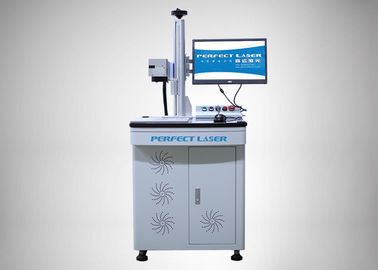 Floor Stand Carbon Steel Laser Marking Equipment 8000mm/S Coding Speed With PC